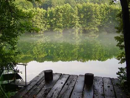 Mreznica river in Croatia - photo by ManaVortex