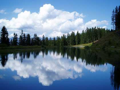 Arzjoch Lake - photo by Maciek Szczepaniak