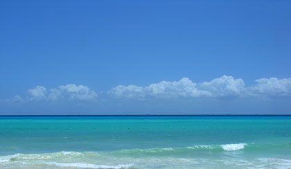 beach in Mexico - photo by Brainloc