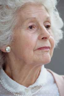 elderly woman sm Anxiety Common in Elders, But Goes Undiagnosed and Undertreated