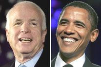 mccain obama sm2 Obamas and McCains Positions on Mental Health Care