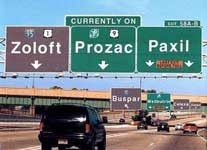 prozac highway sm Questions and Answers: Antidepressants for Anxiety Disorders