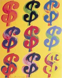 Artwork by Andy Warhol