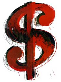 Artwork by Andy Warhol