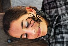 tarantula on face sm Exposure Therapy: Eliminating Anxiety Disorders Fear, Part 1